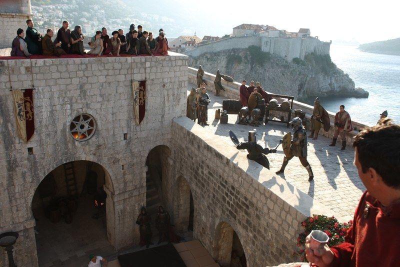 Foto de rodaje. HBO
