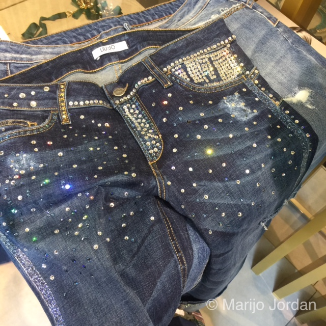Denim customizado en Liu Jo