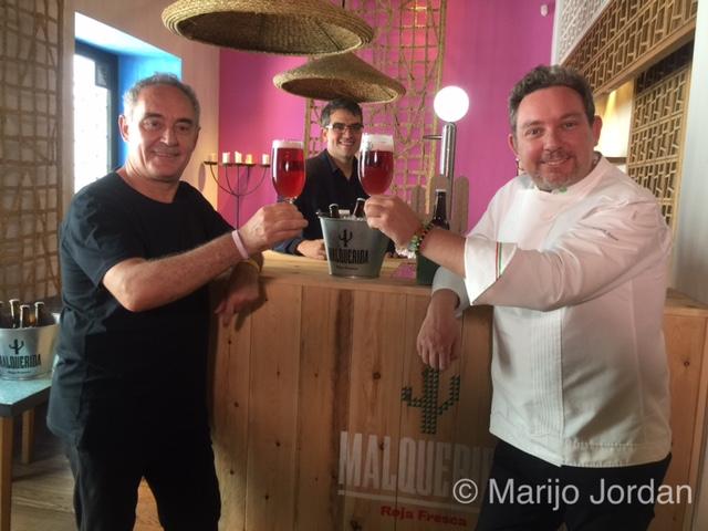 Malquerida, la cerveza para tomar con comida latina que firman los hermanos Adrià