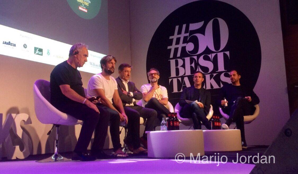 El 15 aniversario del ranquing #Theworlds50best, con los mejores chefs del mundo