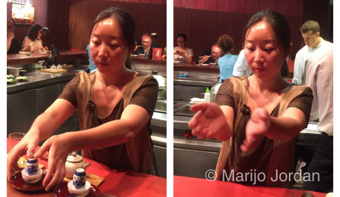 La ceremonia del té y el excepcional menú chino del Dos Palillos