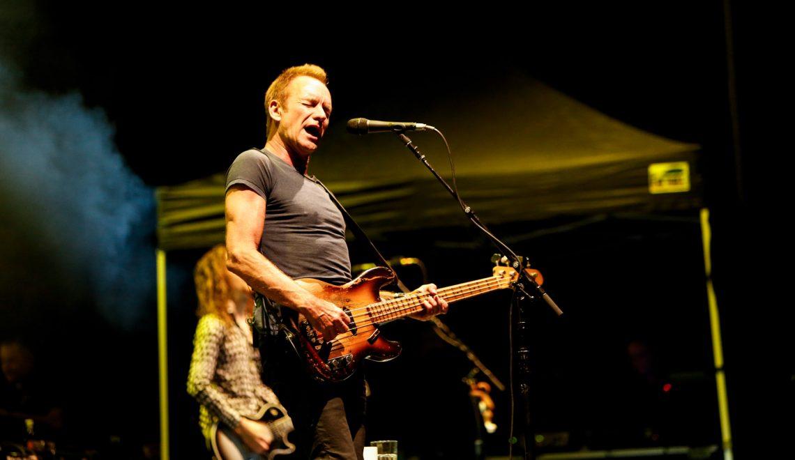 Un gran Sting revive 'Police' en familia