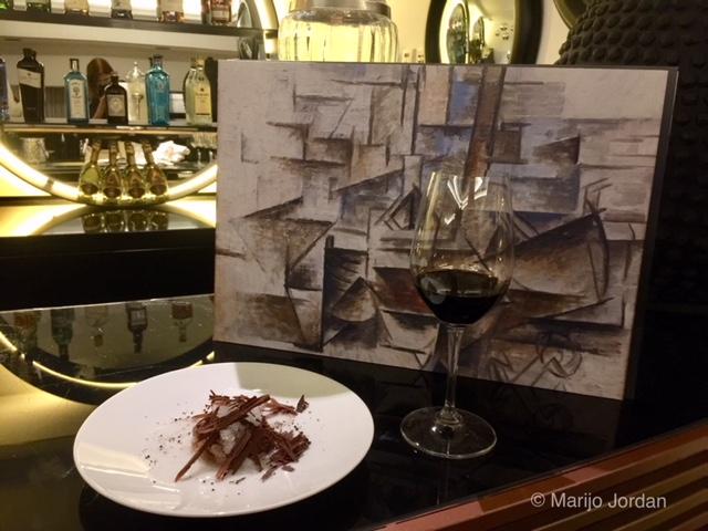 El menú de Marc Gascons inspirado en Picasso