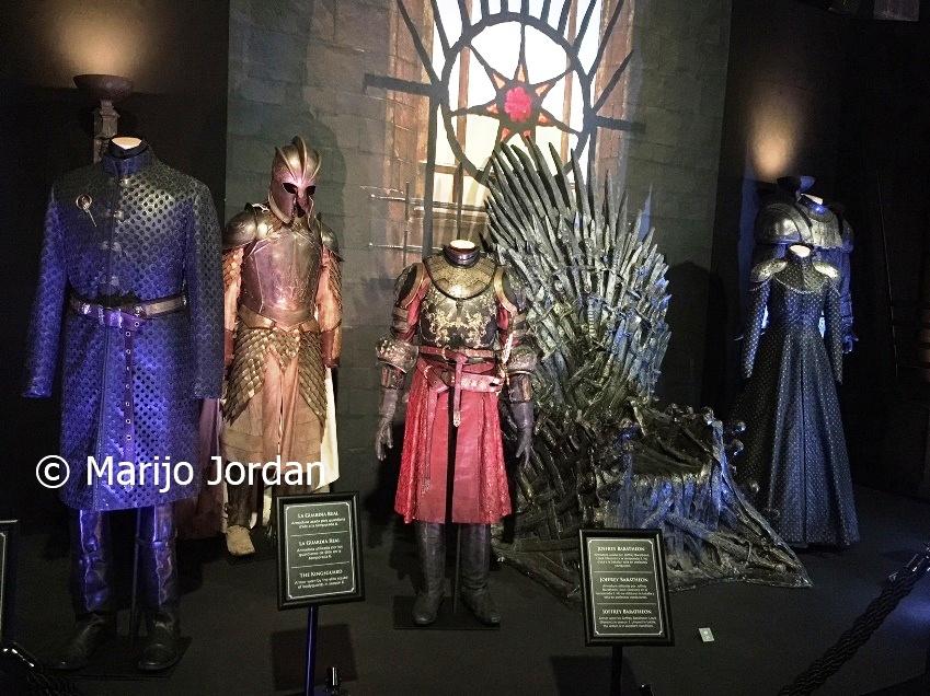 Exposición Juego de Tronos: vestidos para el trono