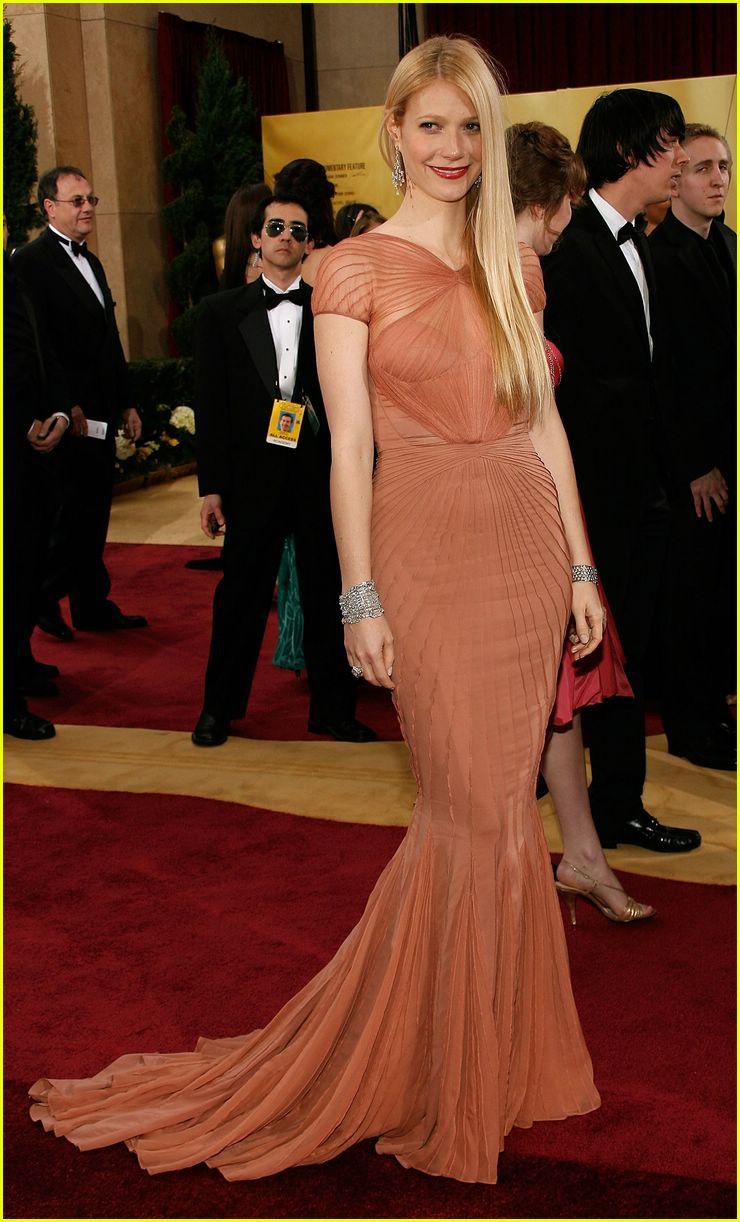 """Gwyneth Paltrow vestida de Zac Posen"""
