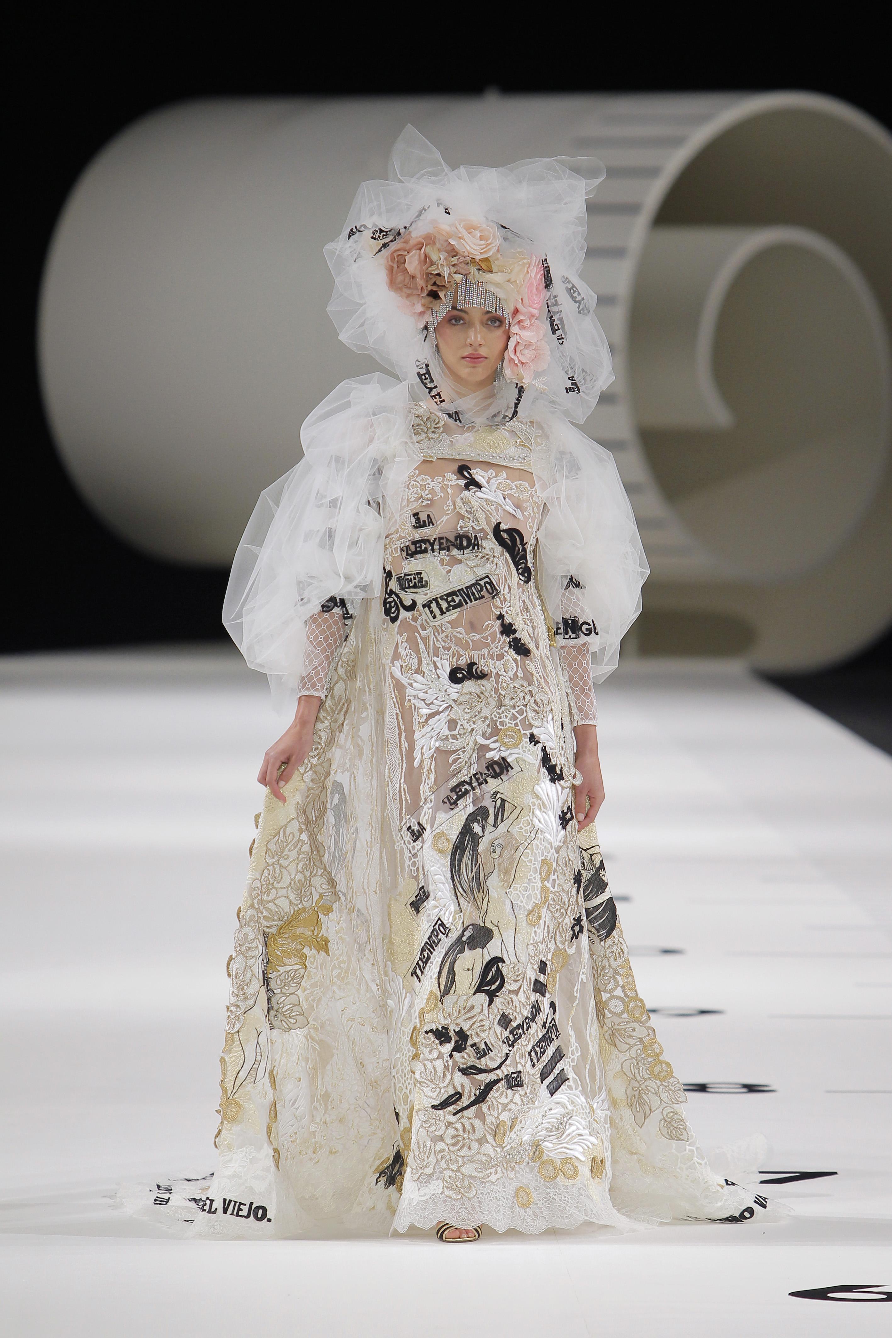 Yolan Cris Klimt Barcelona Bridal Fashion Week 28ª edición