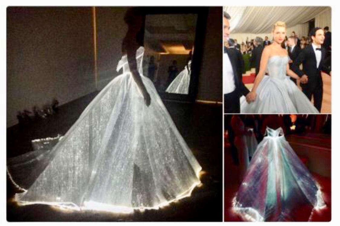 """""""Clair Danes vestida de Zac Posen"""""""