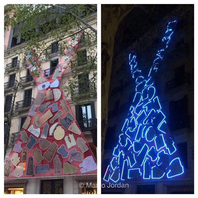 """Mapping 175 aniversario Santa Eulalia"""
