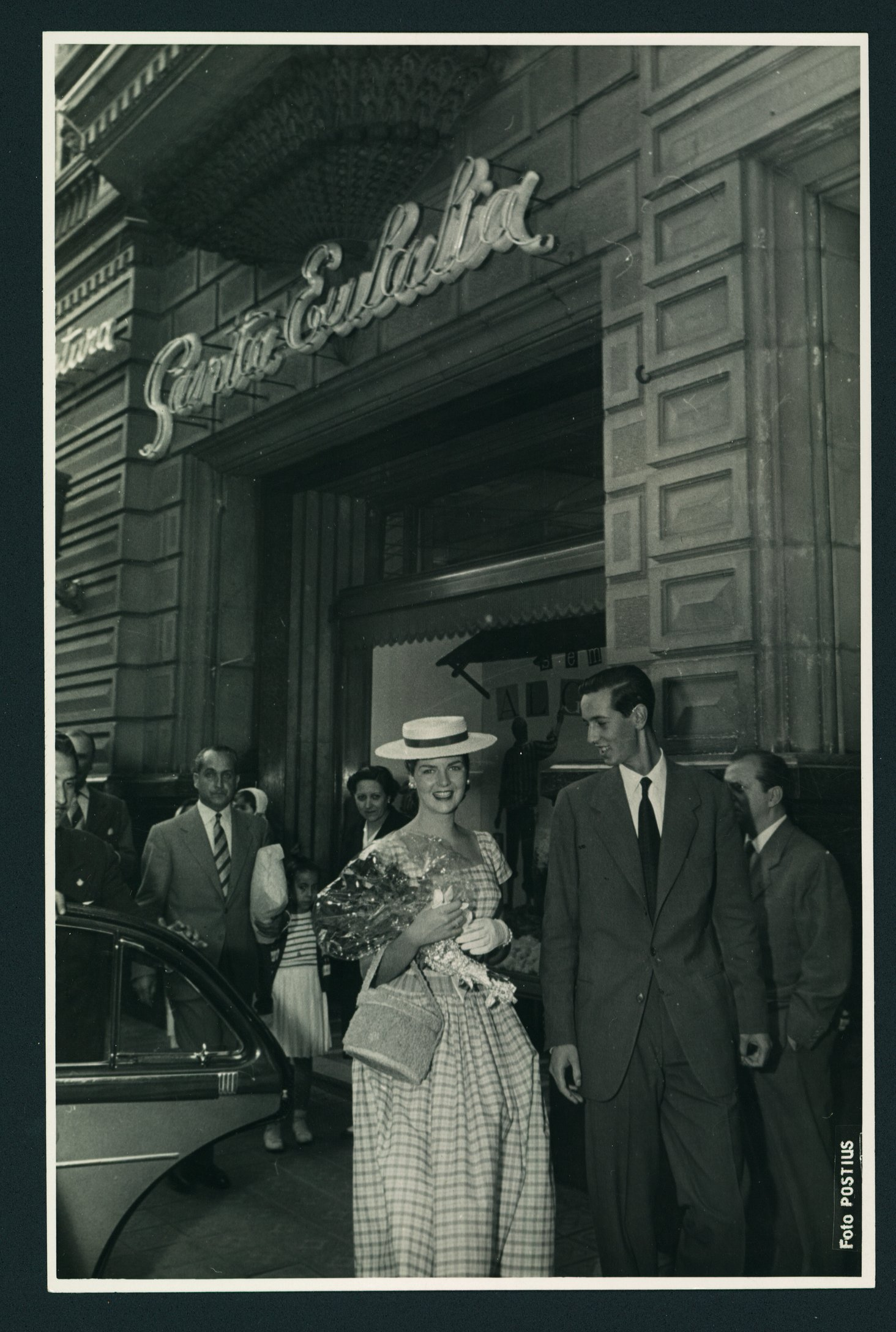 """Foto Santa Eulalia 1956"""