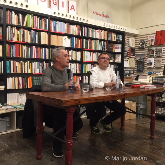 Ferran Adrià con Albert Raurich Dos Palillos