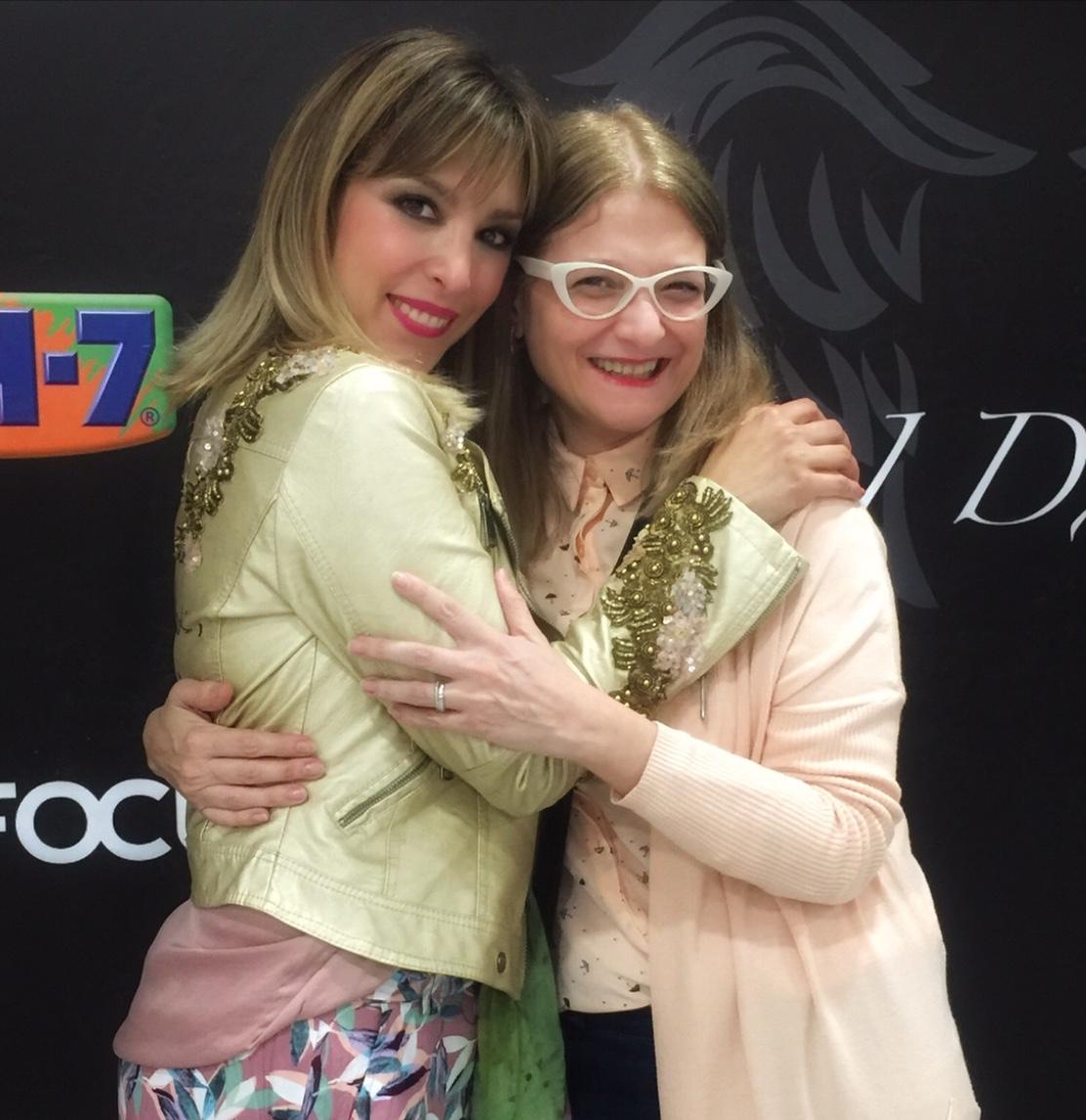 Marijo con Gisela BBFW