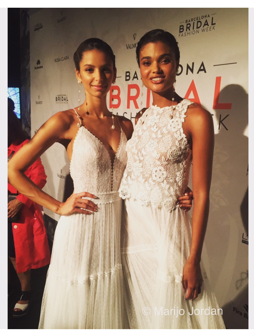 Bruna Lirio y Daniela Braga Barcelona Bridal Fashion Week 28ª edición