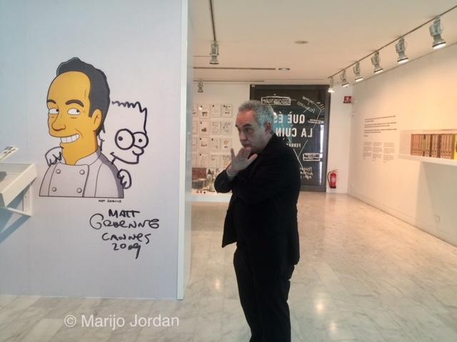 Ferran Adriá en la presentación de La cocina de Picasso